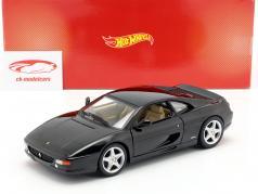 Ferrari F355 Berlinetta Año de construcción 1994 negro 1:18 HotWheels
