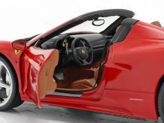 Ferrari 458 Italia Spider Bj. 2011 красный 1:18 HotWheels Heritage