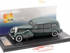 Düsenberg Model J Bohman and Schwartz Throne Car Baujahr 1937 grün 1:43 GLM