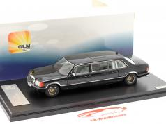 Mercedes-Benz W126 SGS Royal LWB Year 1985 black 1:43 GLM