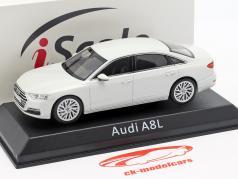 Audi A8L 白 1:43 iScale