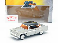 Chevy Bel Air year 1956 silver grey / black 1:24 Jada Toys