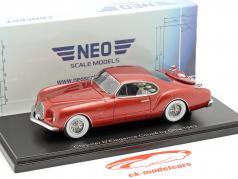 Chrysler D´Elegance Coupé by Ghia Concept Baujahr 1953 rot metallic 1:43 Neo