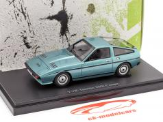 TVR Tasmin 280i Coupe year 1980 blue 1:43 AutoCult