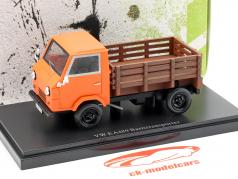 Volkswagen VW EA1489 basic Transportation Year 1973 orange 1:43 AutoCult