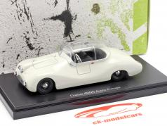 Gatso 4000 Aero Coupe Year 1948 light gray 1:43 AutoCult