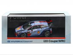 Hyundai i20 Coupe WRC #5 winnaar Rallye Tour de Corse 2017 Neuville, Gilsoul 1:43 Ixo