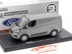 Ford Transit Custom V362 MCA Baujahr 2018 grau metallic 1:43 Greenlight