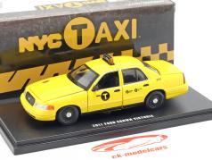 Ford Crown Victoria NYC taxa Opførselsår 2011 gul 1:43 Greenlight