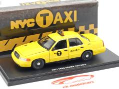 Ford Crown Victoria NYC táxi ano de construção 2011 amarelo 1:43 Greenlight