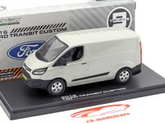 Ford Transit Custom V362 year 2016 silver metallic 1:43 Greenlight