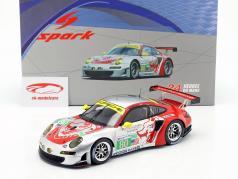 Porsche 911 (997) RSR #80 Le Mans 24h Bergmeister 2012, Long, Holzer 1:18 faísca