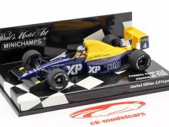 J. Alesi Tyrrell Ford 018 #4 Francês GP Fórmula 1 1989 1:43 Minichamps