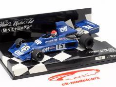 M. Leclere Tyrrell Ford 007 #15 Fórmula 1 1975 1:43 Minichamps