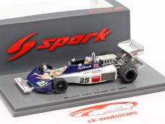 Guy Edwards Hesketh 308D #25 Deutschland GP Formel 1 1976 1:43 Spark