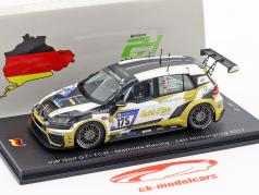 Volkswagen VW Golf GTI TCR #175 24h Nürburgring 2017 Mathilda Racing 1:43 Spark