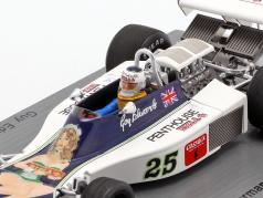 Guy Edwards Hesketh 308D #25 German GP formula 1 1976 1:43 Spark