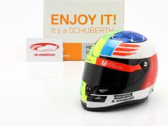 Mick Schumacher Benetton B194 #5 Demo Run GP Spa F1 2017 helm 1:2 Schuberth