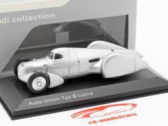 Auto Union Typ B Lucca 銀 1:43 Minichamps