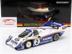 Porsche 956K #2 record lap 1000km Nürburgring 1983 Bellof, Bell 1:18 Minichamps