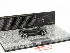 Ford Edsel Special Speedster Ano 1934 preto 1:43 Minichamps