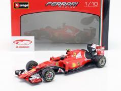 Kimi Räikkönen Ferrari SF15-T #7 Formel 1 2015 1:18 Bburago