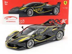Ferrari FXX-K #44 黒 1:18 Bburago Signature