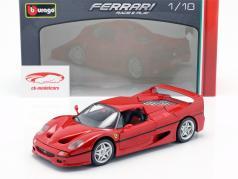 法拉利 F50 红色 1:18 比美高 Bburago