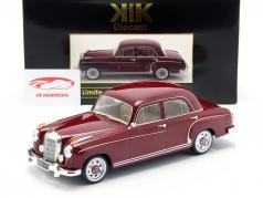 Mercedes-Benz 220 S limousine (W180II) year 1956 dark red 1:18 KK-Scale