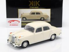 Mercedes-Benz 220 S limousine (W180II) year 1956 cream White 1:18 KK-Scale