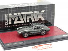 Aston Martin DB3 S FHC year 1956 dark green metallic 1:43 Matrix