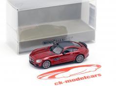 Brabus 600 auf Basis Mercedes-Benz AMG GT S Baujahr 2015 rot metallic 1:87 Minichamps