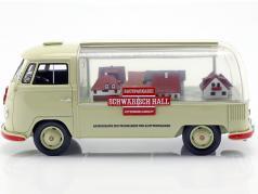 Volkswagen VW T1a bus Schwäbisch Hall beige / rouge 1:18 Schuco