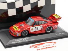 Porsche 935/77 #66 ウィナー DRM Nürburgring 1977 Stommelen 1:43 Minichamps