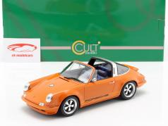 Porsche 911 (964) Targa Singer year 1990 orange 1:18 Cult Scale