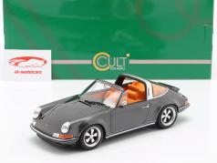 Porsche 911 (964) Targa Singer year 1990 grey 1:18 Cult Scale