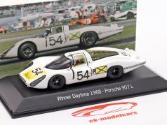 Porsche 907 LH #54 Vincitore 24h Daytona 1968 1:43 Spark