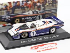 Porsche 956 LH #1 Gagnant 24 LeMans 1982 Ickx / Bell 1:43 Spark