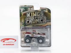 Chevrolet C20 Monster Truck Gentle Ben 1 año de construcción 1972 marrón / blanco 1:64 Greenlight