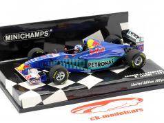 Nicola Larini Sauber C16 #17 formule 1 1997 1:43 Minichamps