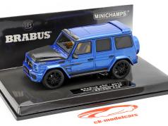 Brabus 900 based on Mercedes-Benz G 65 year 2017 dark blue 1:43 Minichamps