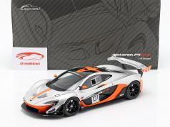 McLaren P1 GTR #01 Concept Car 2015 schwarz / orange / silber 1:18 Almost Real