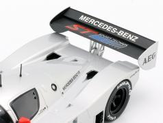 Sauber-Mercedes C9 #2 ジュニア テスト Schumacher, Wendlinger, Frentzen 1:18 Norev