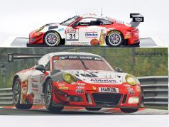 Porsche 911 GT3 R #31 winnaar VLN 3 Nürburgring 2018 Frikadelli 1:18 Minichamps