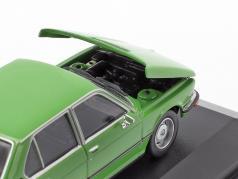 BMW 520 E12 Bouwjaar 1974 groen 1:43 Minichamps