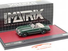 Aston Martin DB2 Vantage DHC Drophead coupe open top 1952 groen 1:43 Matrix