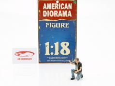 Biker Figur Motorman 1:18 American Diorama