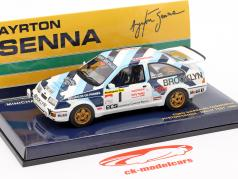 Ford Sierra RS Cosworth #1 Rallye Test Car 1986 Senna 1:43 Minichamps