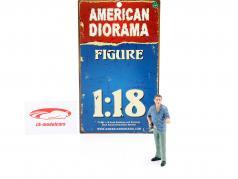 Detektiv Version 4 Figur 1:18 American Diorama