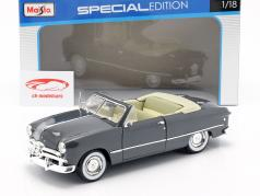 Ford Cabriolet Year 1949 dark gray 1:18 Maisto